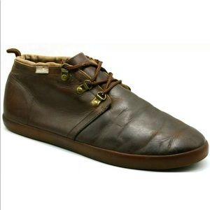 Sanuk Mens Cargo Deluxe Chill Leather Chukka Boot